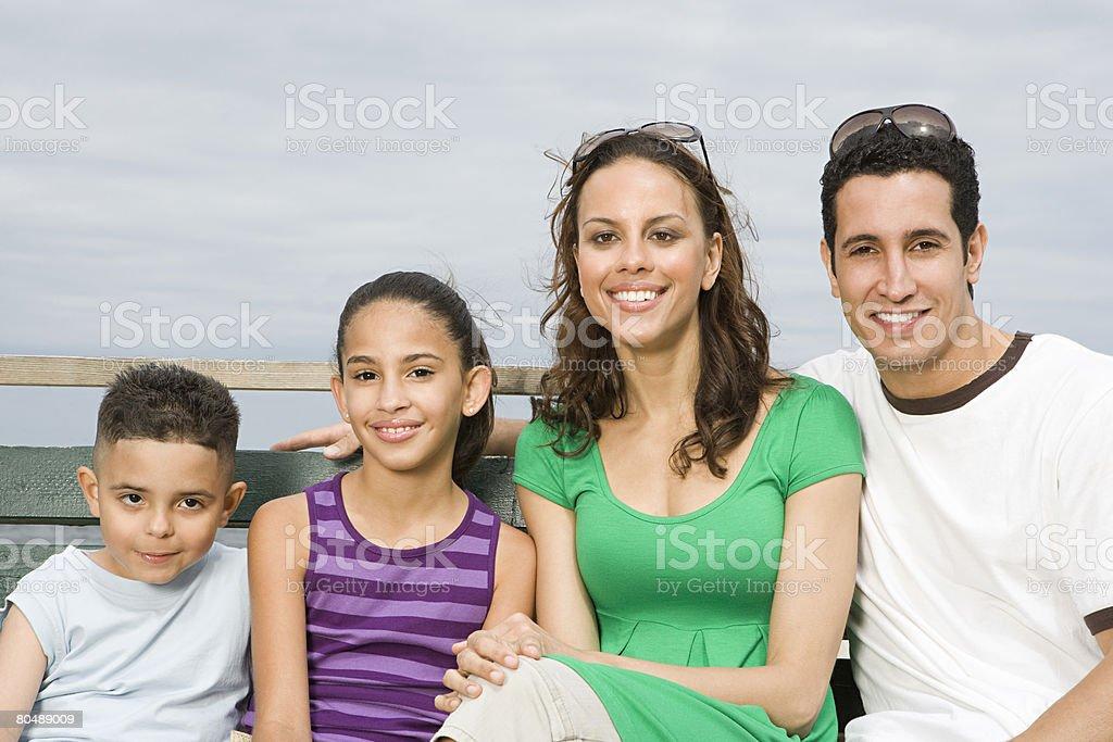 家族の屋外 ロイヤリティフリーストックフォト