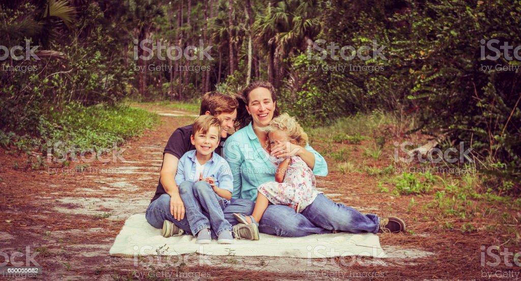 Family Outtake stock photo