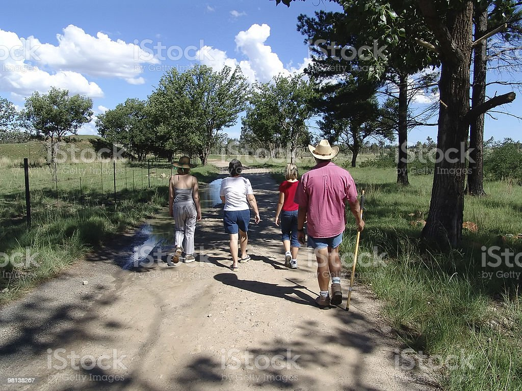 Family Outting royalty-free stock photo