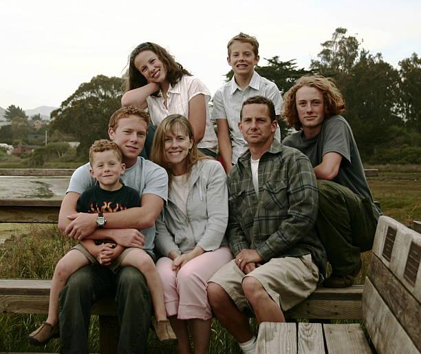 Familienfoto – Foto