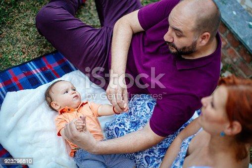 istock Family picnic 923296810