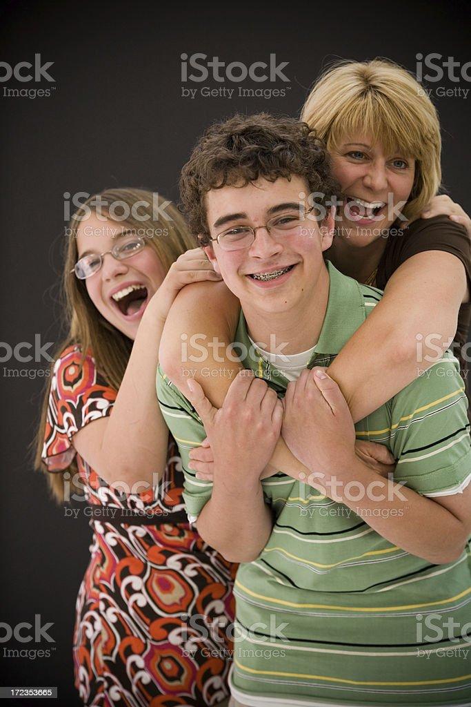 La familia foto de stock libre de derechos
