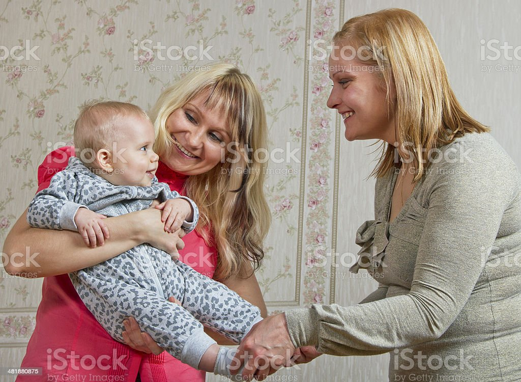 Family. stock photo