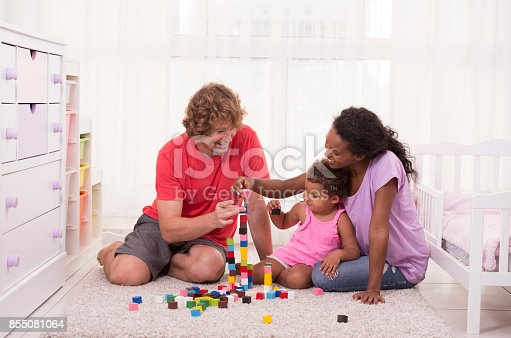 istock Family play time! 855081064