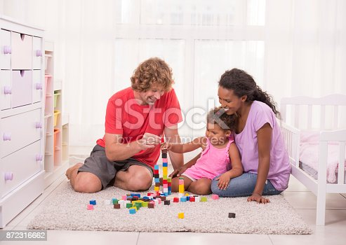 istock Family play time. 872316662