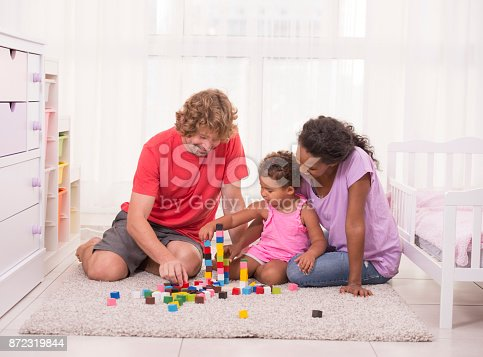 istock Family play time. 872319844