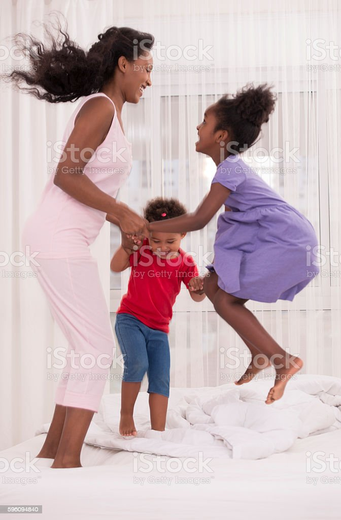 Family playtime. royalty-free stock photo