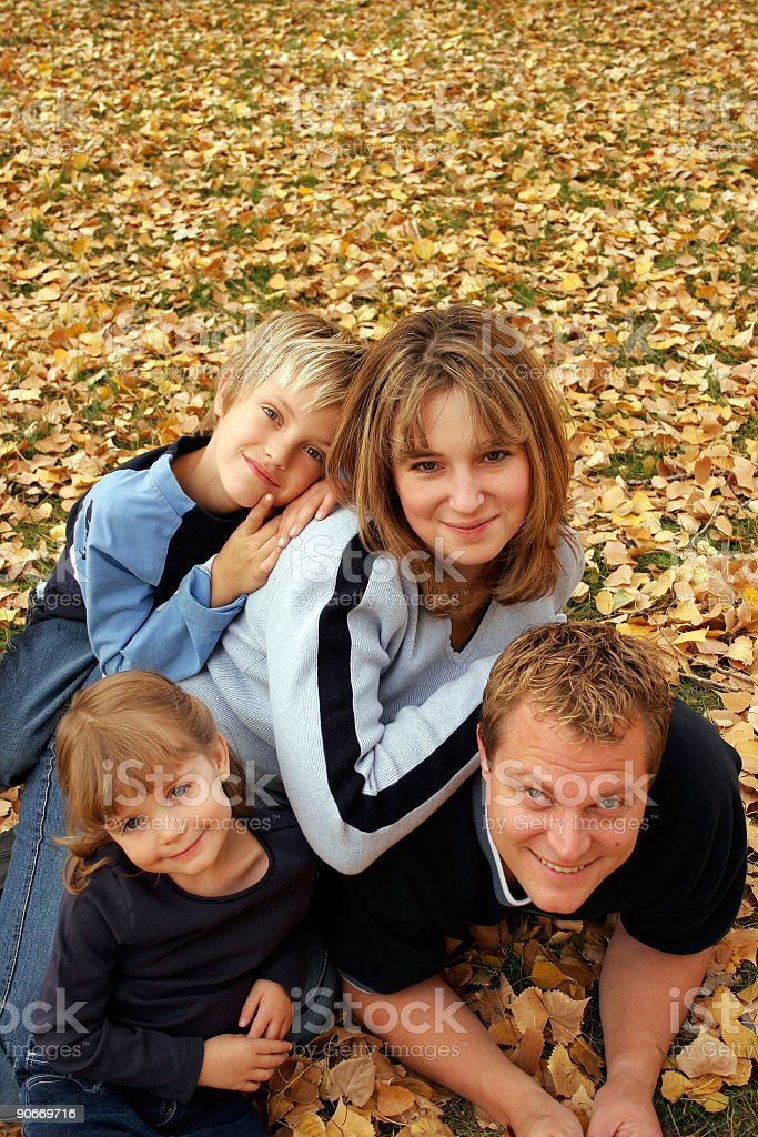 Family Porrtrait royalty-free stock photo