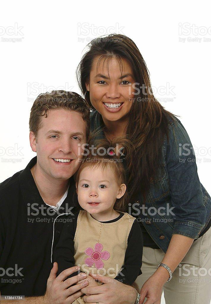 Family Portrait 4 royalty-free stock photo