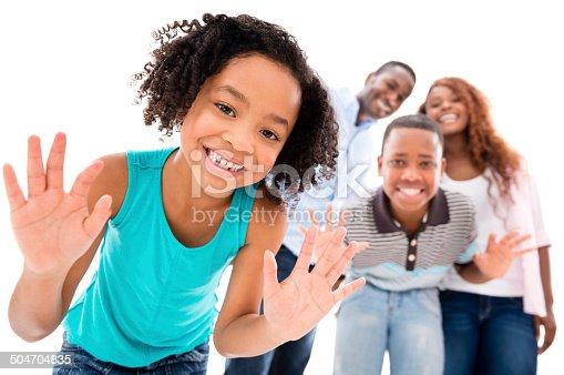 1126155137 istock photo Family portrait having fun 504704835