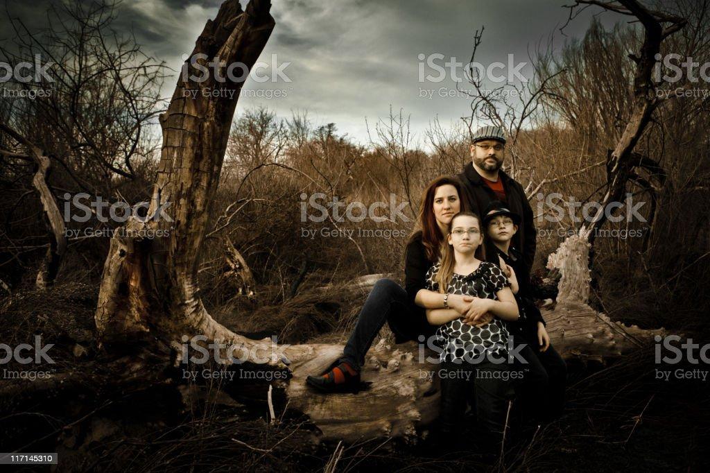 Family Portrait Nature stock photo