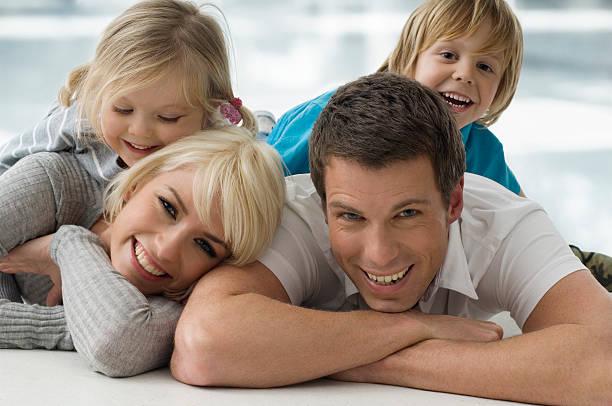 Familien Portrait – Foto