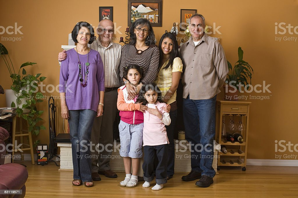 family portrait royaltyfri bildbanksbilder