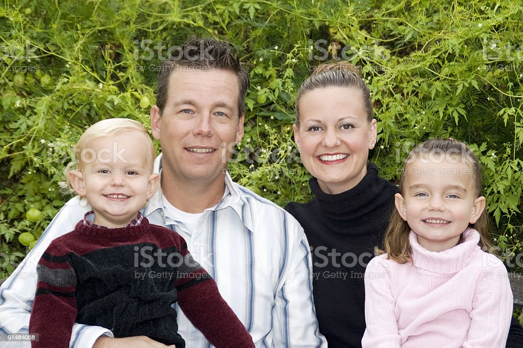 Family Portrait royalty-free stock photo