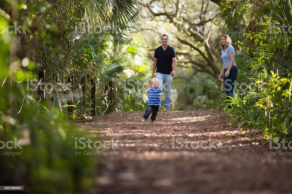 Family quality time stock photo