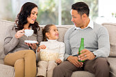 istock family relaxing at home 521775747