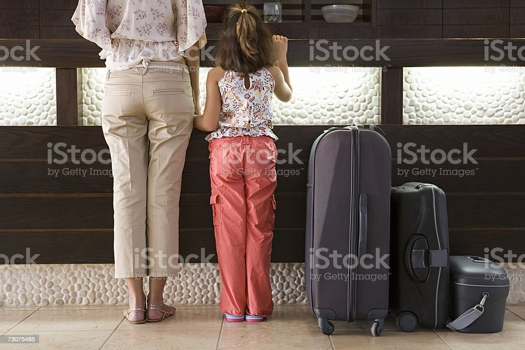 Family Resort Holiday stock photo