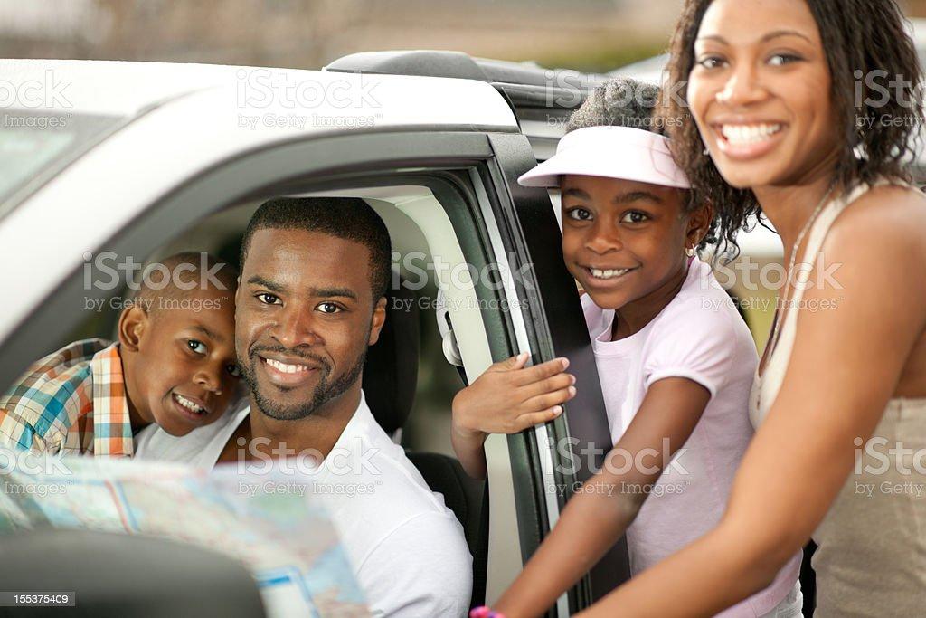 Family Road Trip royalty-free stock photo