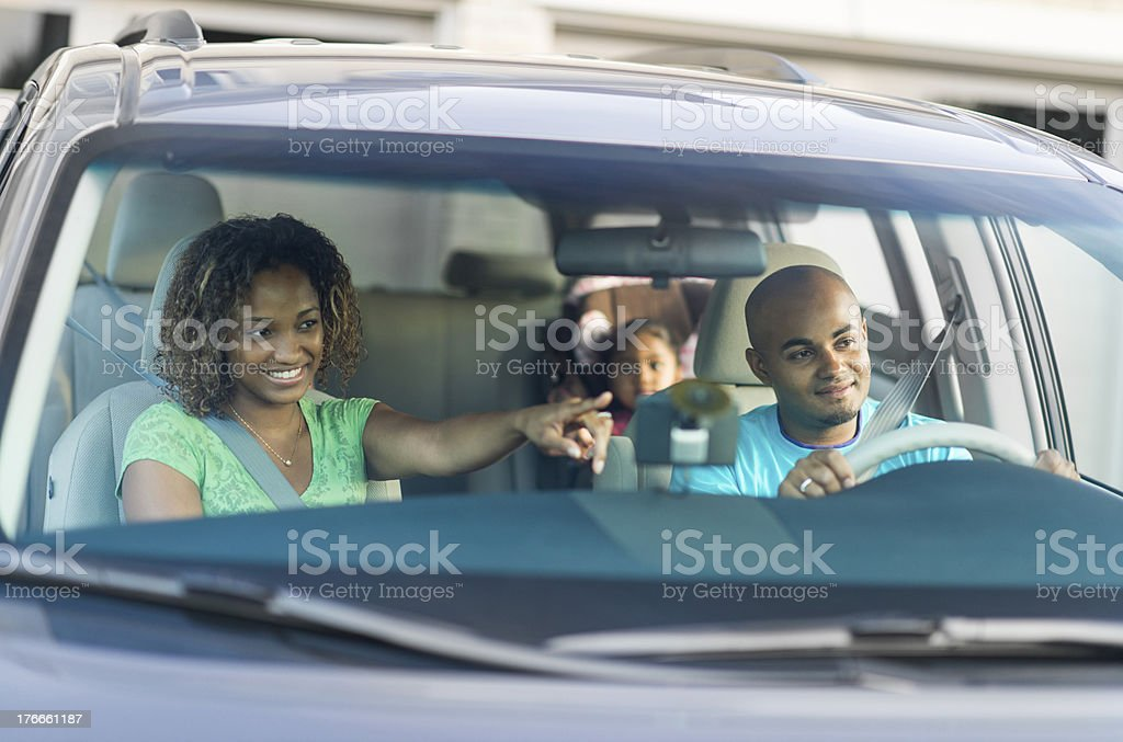 Family Roadtrip stock photo