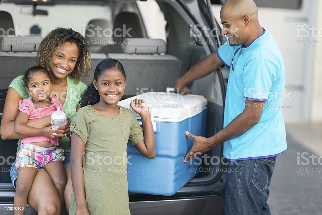Family Roadtrip royalty-free stock photo