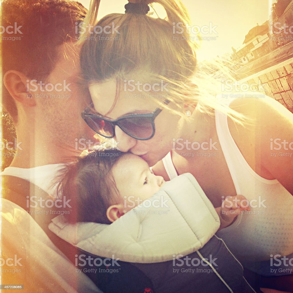 Family selfportrait royalty-free stock photo