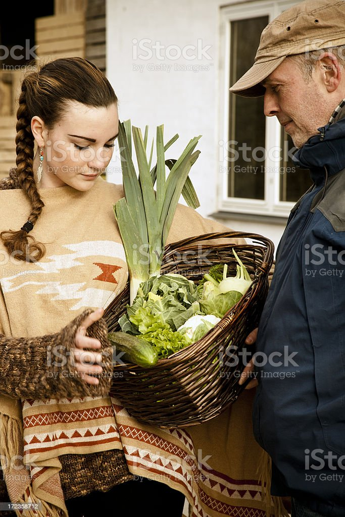 Family Shopping royalty-free stock photo