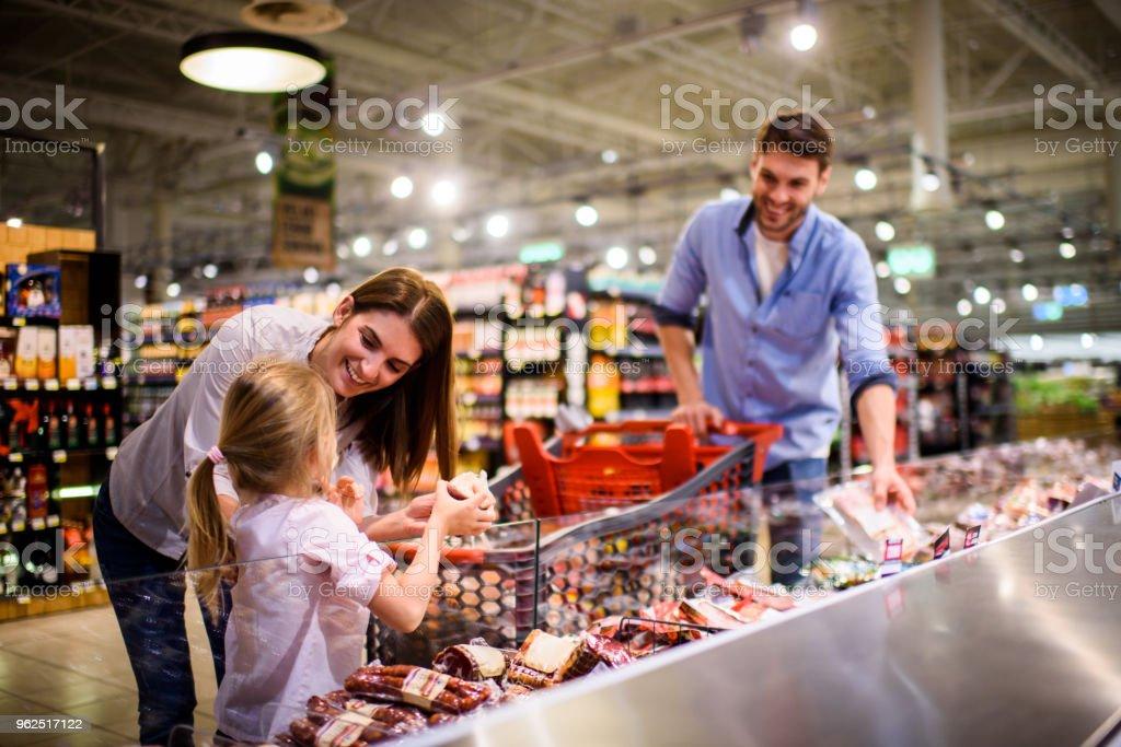 Família de compras  - Foto de stock de 30 Anos royalty-free