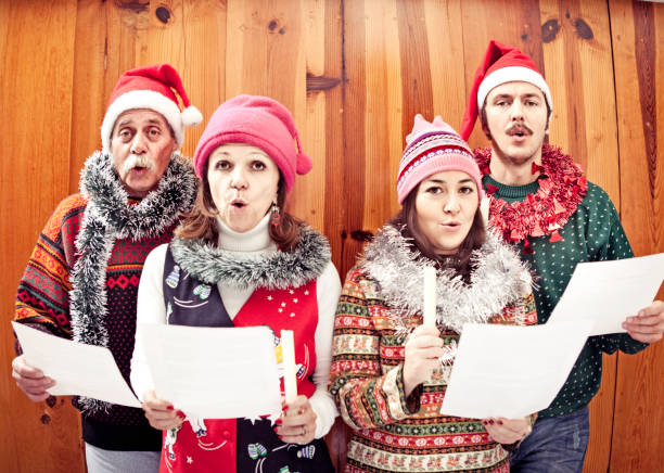 4 273 Christmas Carolers Stock Photos Pictures Royalty Free Images Istock