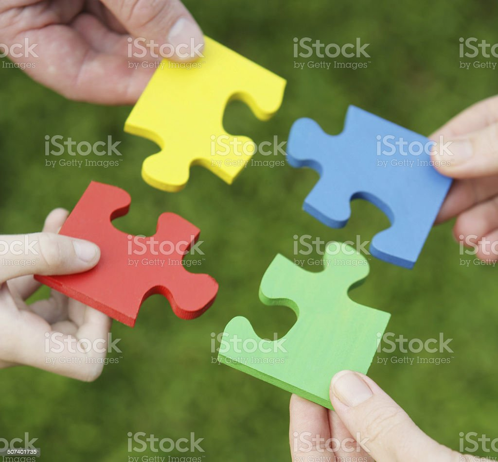 Family Solutions stock photo