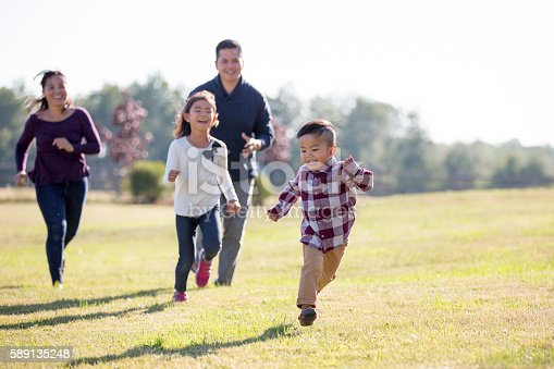 589135214 istock photo Family Spending Time Outdoors 589135248