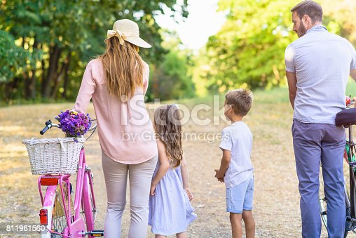 658444674istockphoto Family summertime in nature 811961560