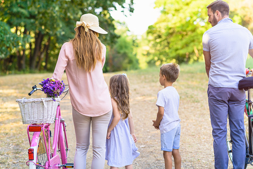 658444674 istock photo Family summertime in nature 811961560