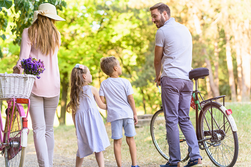 658444674 istock photo Family summertime in nature 811964128