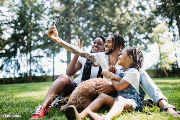 Family taking selfie in park with dog picture id1149138306?b=1&k=6&m=1149138306&s=612x612&h=tkjfwdkivcpfgbhyulhmzjoo0x j ffs7mdzskwqxoi=