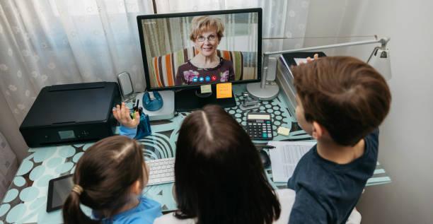 Family talking on video call with grandmother picture id1216804537?b=1&k=6&m=1216804537&s=612x612&w=0&h=fjvnpyknansqmvbjqkbnvcfg0vz8wl73w24nustirpo=