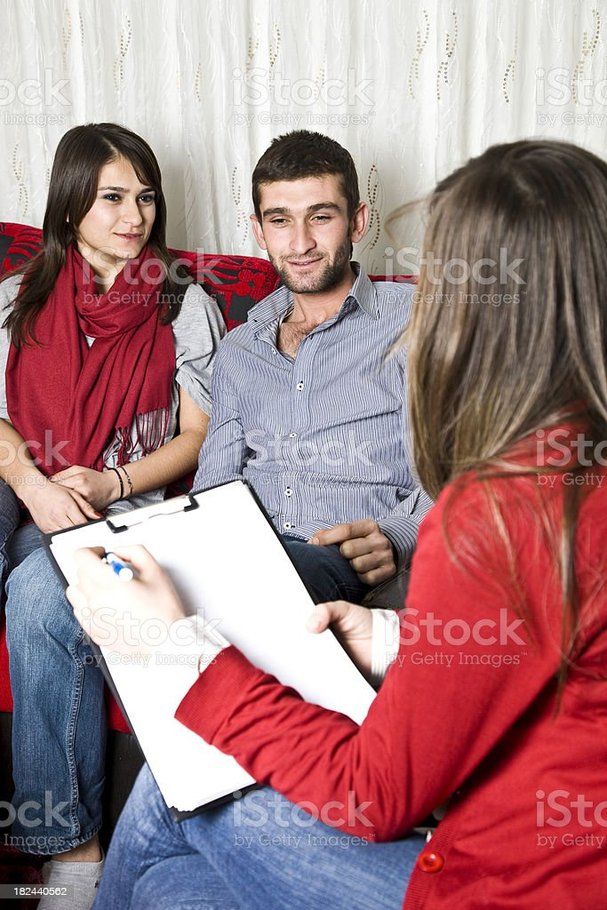 family Therapy stock photo