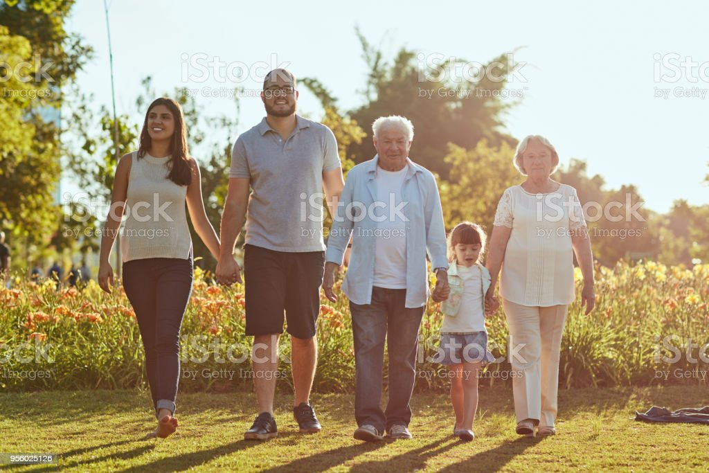 Family time is never quite enough stock photo