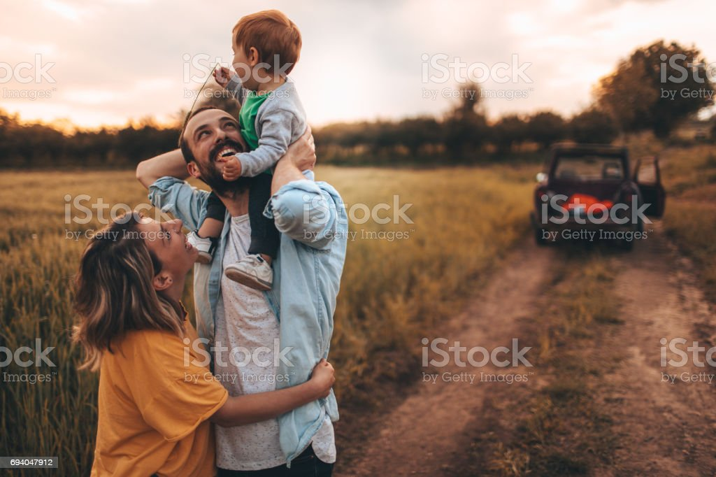 Family time! stock photo