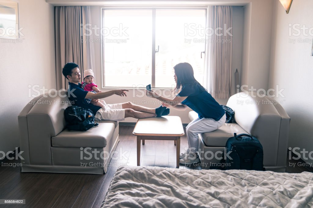 Family time stock photo