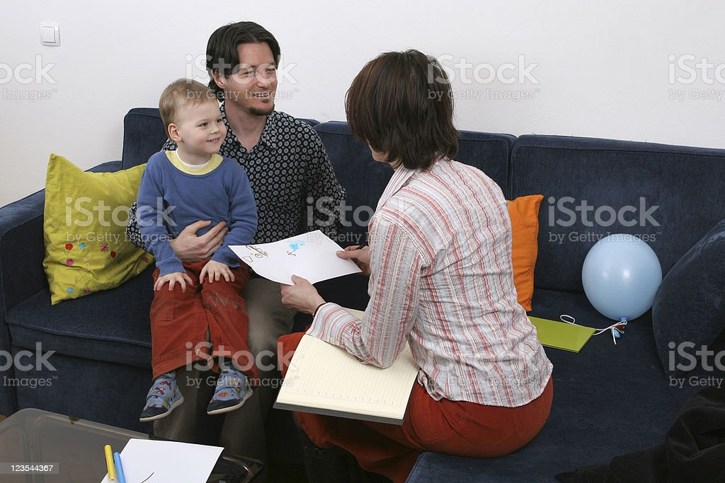 Family together royalty-free stock photo