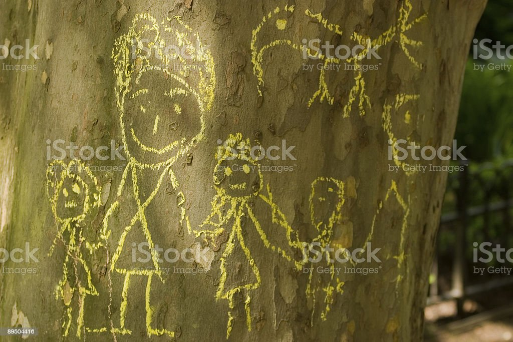 Family Tree royalty-free stock photo