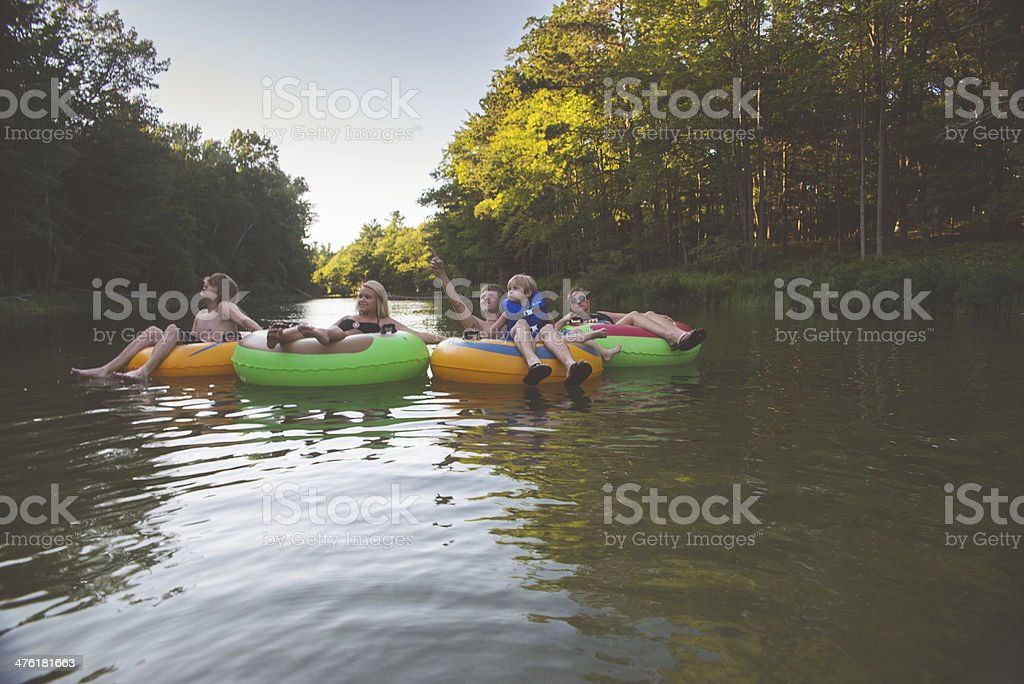 Family Vacation stock photo