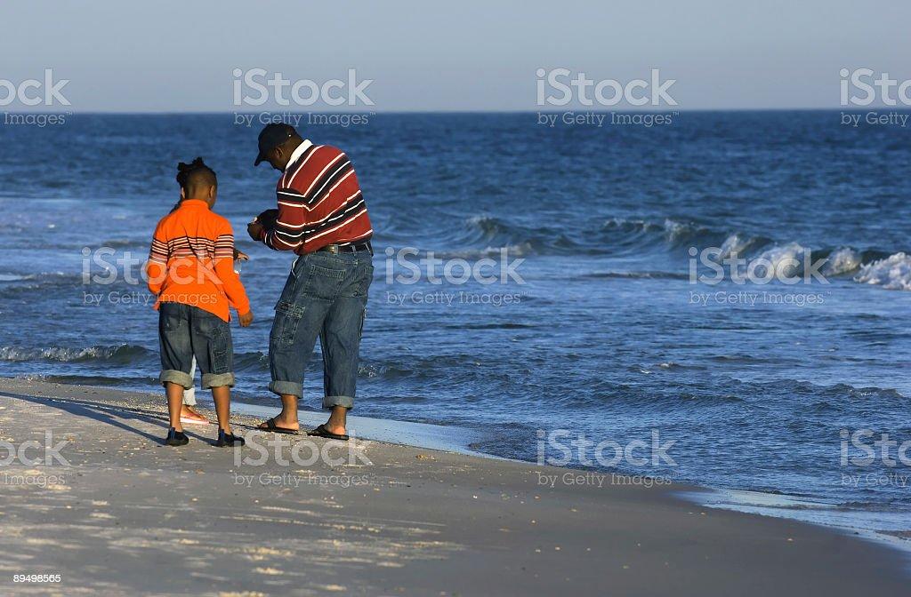 Family vacation royalty free stockfoto