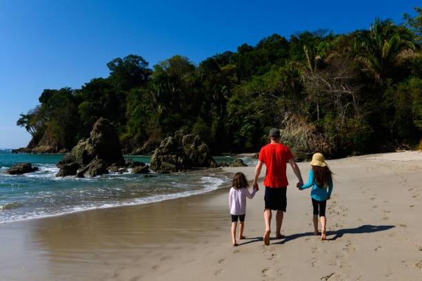Familienurlaub am Strand – Foto