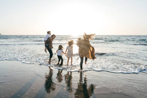Family vacations stock photo