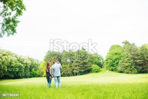 istock Family walk 907793330