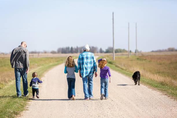 Family walking down rural gravel driveway picture id903446194?b=1&k=6&m=903446194&s=612x612&w=0&h= 7h7qv2tnzg9woit zk2hdea1tff liqjzf10fova9k=