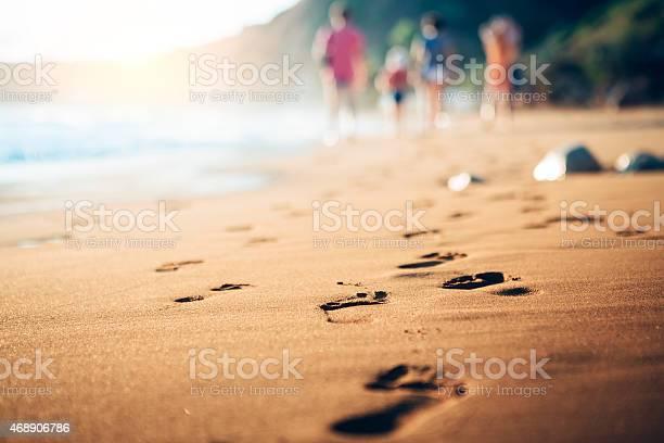 Family walking home from the sandy beach at evening sunlight picture id468906786?b=1&k=6&m=468906786&s=612x612&h=iebysofoj3n2v5fuirya9nnqljbteeki0tupl82o0tk=