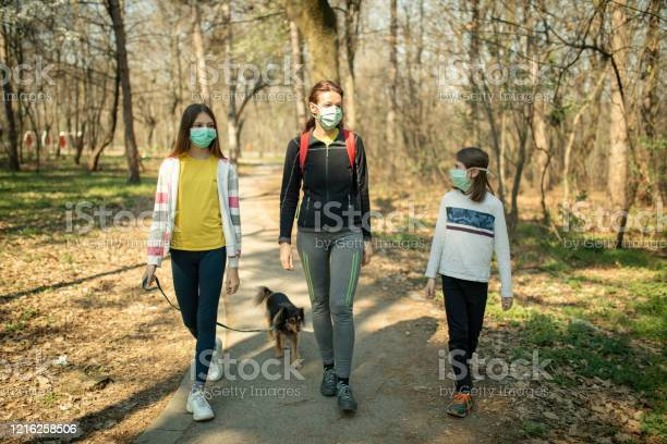 Family walking with their dog in park and wearing mask picture id1216258506?b=1&k=6&m=1216258506&s=612x612&h=3jecv7hfycfgxk nzdwdk980tkldpnhfjjprepxbgdc=