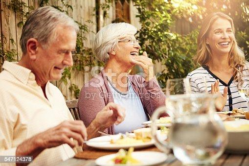 istock Family - we live, we love, we laugh 547124378